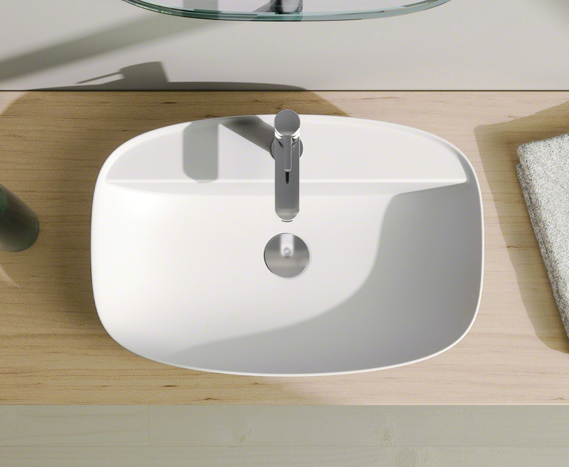 Catalano Colori 60x40 Basin in White by District One Bathrooms