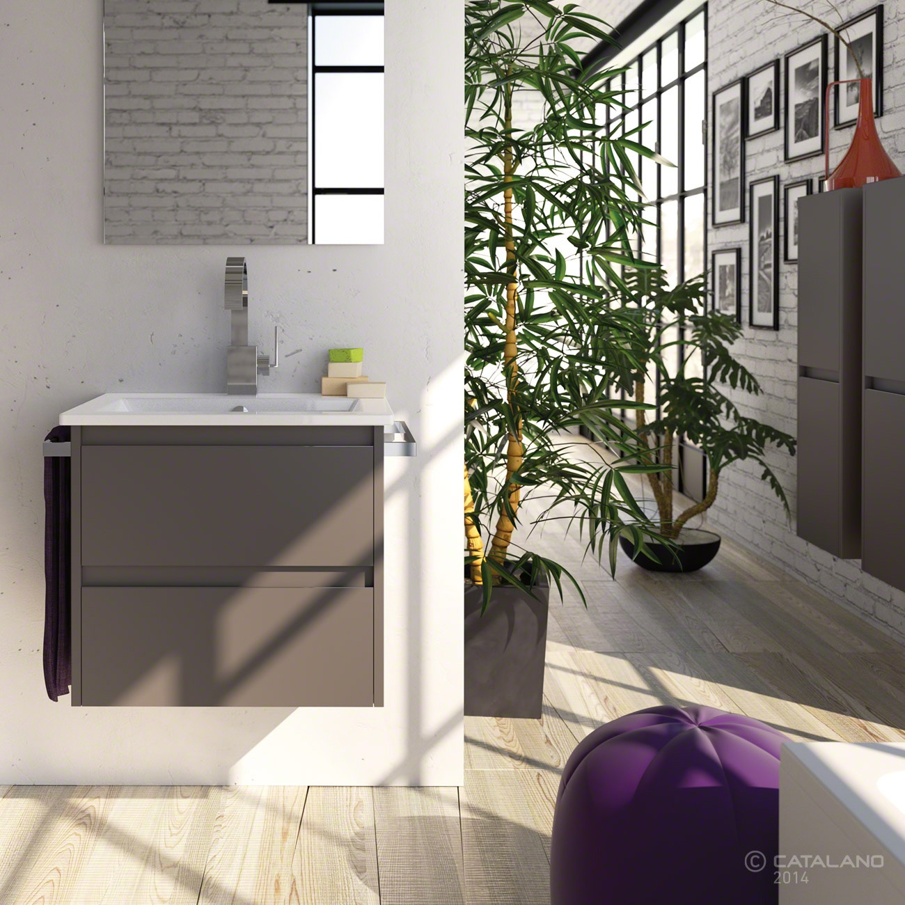 Catalano Star 60 Basin by District One Bathrooms
